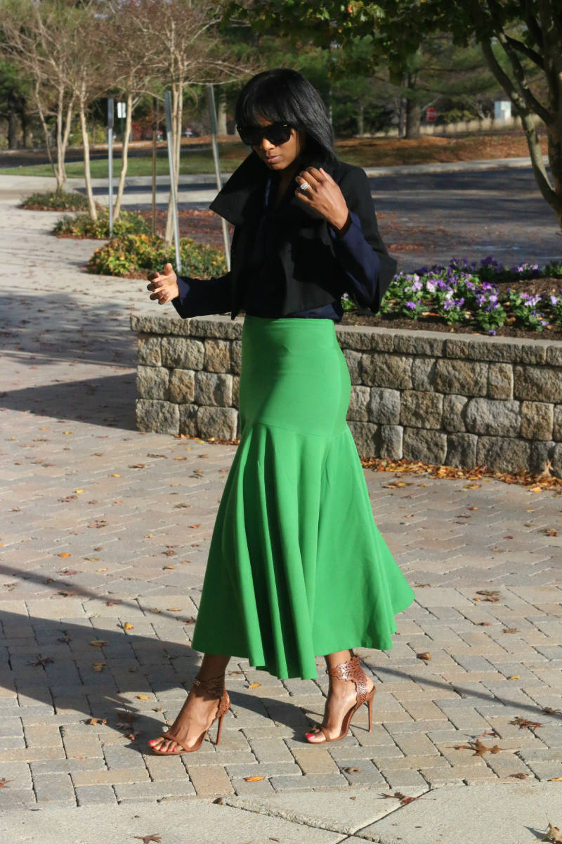 DIY drop waist skirt